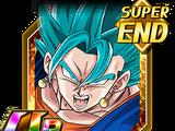 Extrême puissance bleue - Vegetto Super Saiyan divin SS