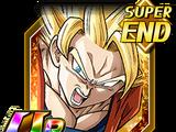 Terrible coup - Son Goku Super Saiyan 2