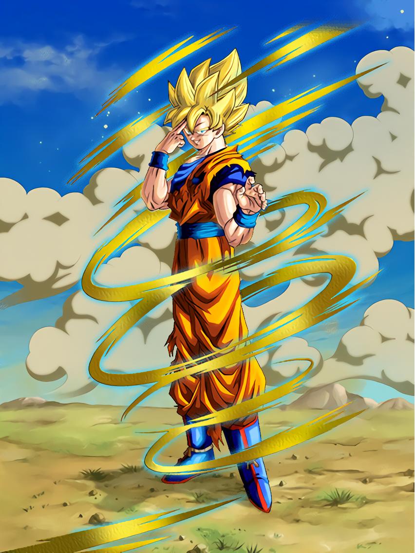 Son Goku Teleportation