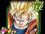 Coup tourbillonnant - Son Goku Super Saiyan 2