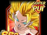 Désir de combat furieux - Caulifla Super Saiyan 2
