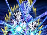 Bataille miraculeuse - Son Gohan Super Saiyan (jeune) & Son Goten Super Saiyan (petit)
