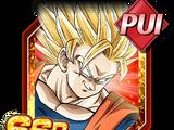 Instinct du peuple guerrier - Son Goku Super Saiyan 2 (ange)