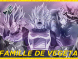 Tier List: Famille de Vegeta