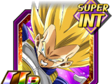 Nouvelle force obtenue après entraînement - Super Vegeta