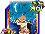 Dieu en colère - Son Goku Super Saiyan divin SS
