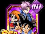 Le début d'une nouvelle aventure - Son Goku (GT) & Pan (GT) & Trunks (GT)