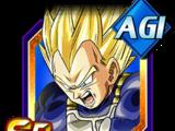 Suprême volonté combative - Vegeta Super Saiyan