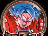 Médaille d'éveil - Son Goku Super Saiyan divin SS (bronze) 100391