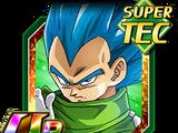Libération de la puissance divine - Vegeta Super Saiyan divin SS