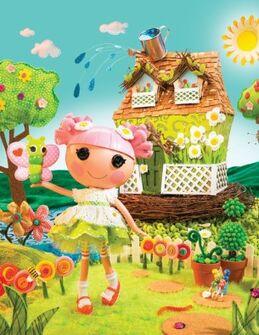 LLL Blossom Flowerpot Poster