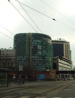 Arkady Wrocławskie w budowie