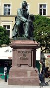 Aleksander Hr. Fredro pomnik