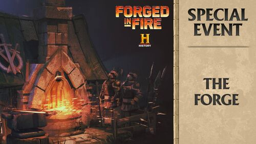 Forged in Fire - The Forge large
