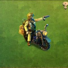 Heavy Motorcycle Raider