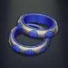 Garakji Rings, blue colour