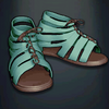 Agrippa's Boots - Turquoise