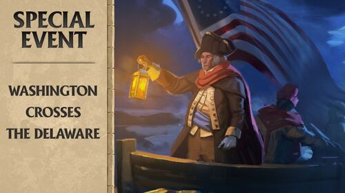 Washington Crosses Delaware Large