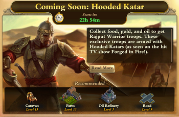 Forged in Fire-Hooded Katar