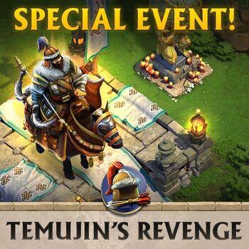 Temujin's Revenge Front Cover