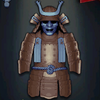Oda Nobunaga's Armor, level 1 light blue
