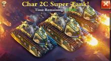Char 2C Super Heavy Tank Sale