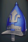 An-Nasir Muhammad's Helmet, level 2 blue