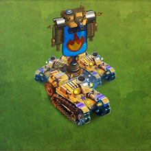 Carro Veloce Flamethrower Tank Army
