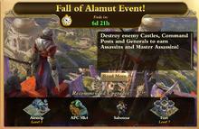 Fall of Alamut Event