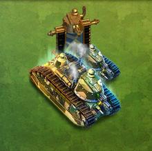 Char 2C Super Heavy Tank Army
