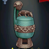 Bamileke Pottery - Turquoise