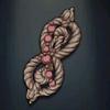 Jane Austen's Lover's Knot, pink colour