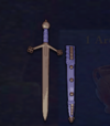 Claymore Sword-pastelblue