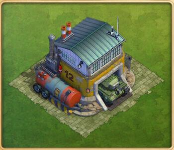 Tank Depot Level 12