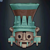 Itzcoatl's Tlaloc Vessel, level 1 green