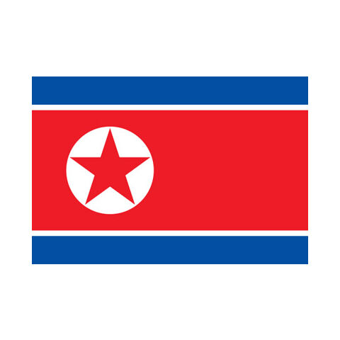 The Ramhongsaek Konghwagukki. Flag of the Democratic People's Republic of Korea