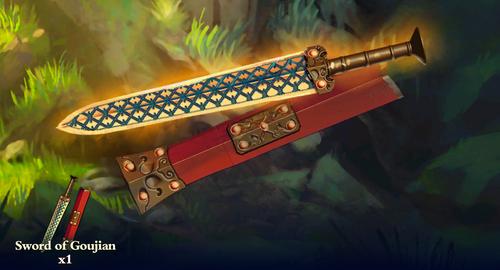 Sword of Goujian Large