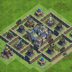 80 Walls Classical Age War Base nr1