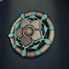Queen Victoria's Brooch, turquoise colour2