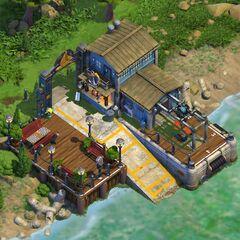Shipyard Level 8