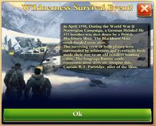 Wilderness Survival Event