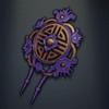 Chai Hair Ornament, violet colour