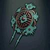 Wu Zetian's Hair Ornament - Turquoise