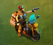 Elite Motorcycle Raider