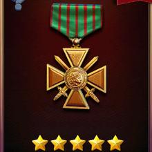 Captain's Croix de Guerre