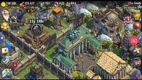 001 DomiNations 01 - LeGuide - 01 Infantry troops Global Age + Add troops Atomic Age. TRY IT !