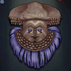 Kuba Mask - Blue