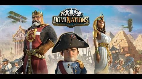 DomiNations Iniciantes 007 -Defesa Medieval vs Ataque Pólvora analise.