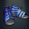 Agrippa's Boots - Electric Blue