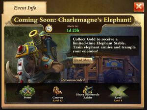 Charlemagne's Elephant Event